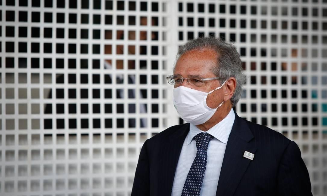 O ministro da Economia, Paulo Guedes Foto: Pablo Jacob / Agência O Globo