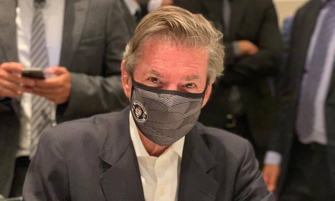Jorge Salgado é empossado novo presidente do Vasco