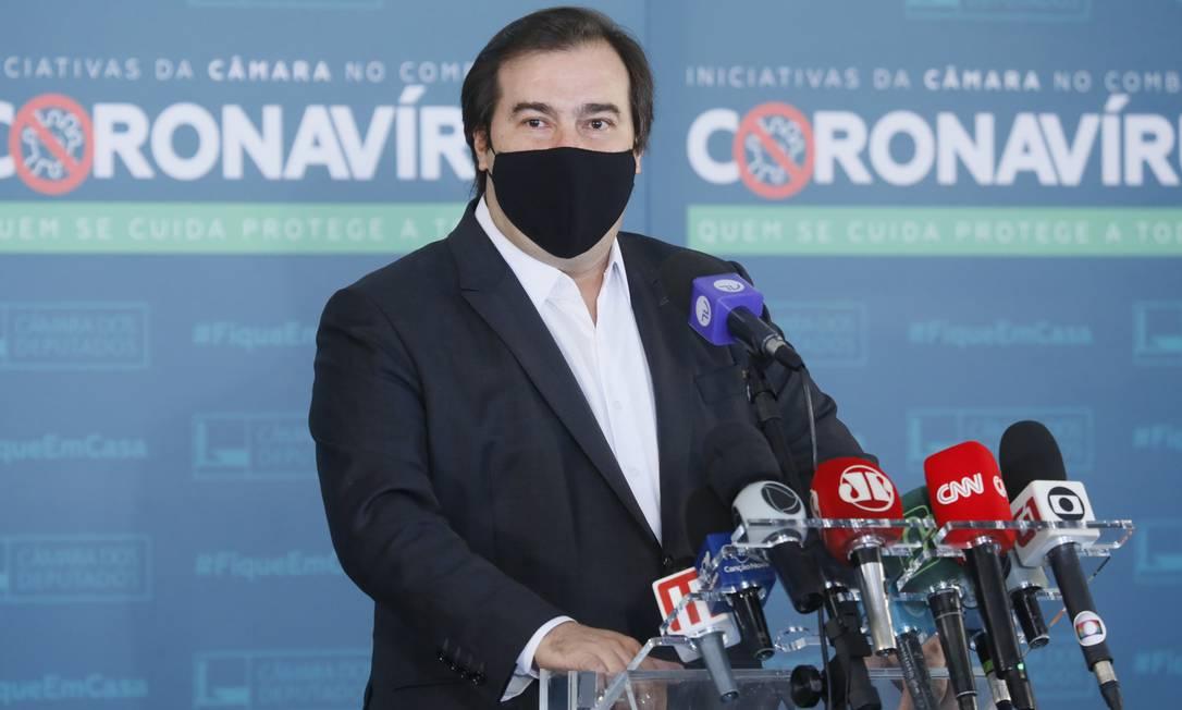O ex-presidente da Câmara dos Deputados Rodrigo Maia (DEM-RJ) Foto: Najara Araújo/Câmara dos Deputados
