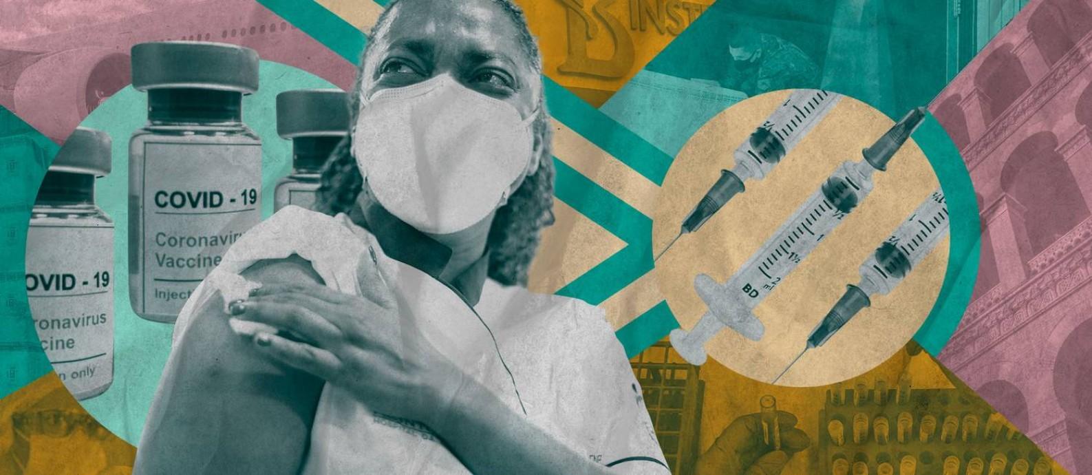 Vacinar um país tão grande quanto o Brasil exige planejamento complexo e a mobilização de diferentes fornecedores. Foto: O Globo
