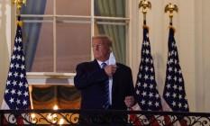 Trump: tratamento experimental será implementado na Alemanha Foto: NICHOLAS KAMM/AFP/5-10-2020