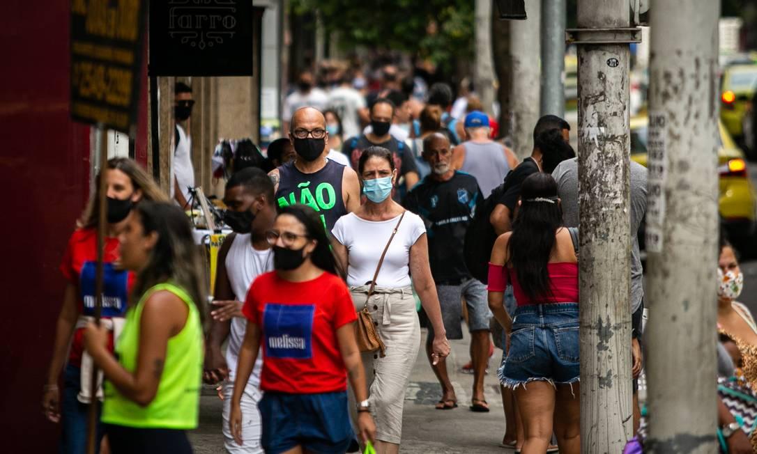 Número de brasileiros mortos por Covid-19 passa de 217 mil na pandemia Foto: Hermes de Paula / Agencia O Glob / Agência O Globo