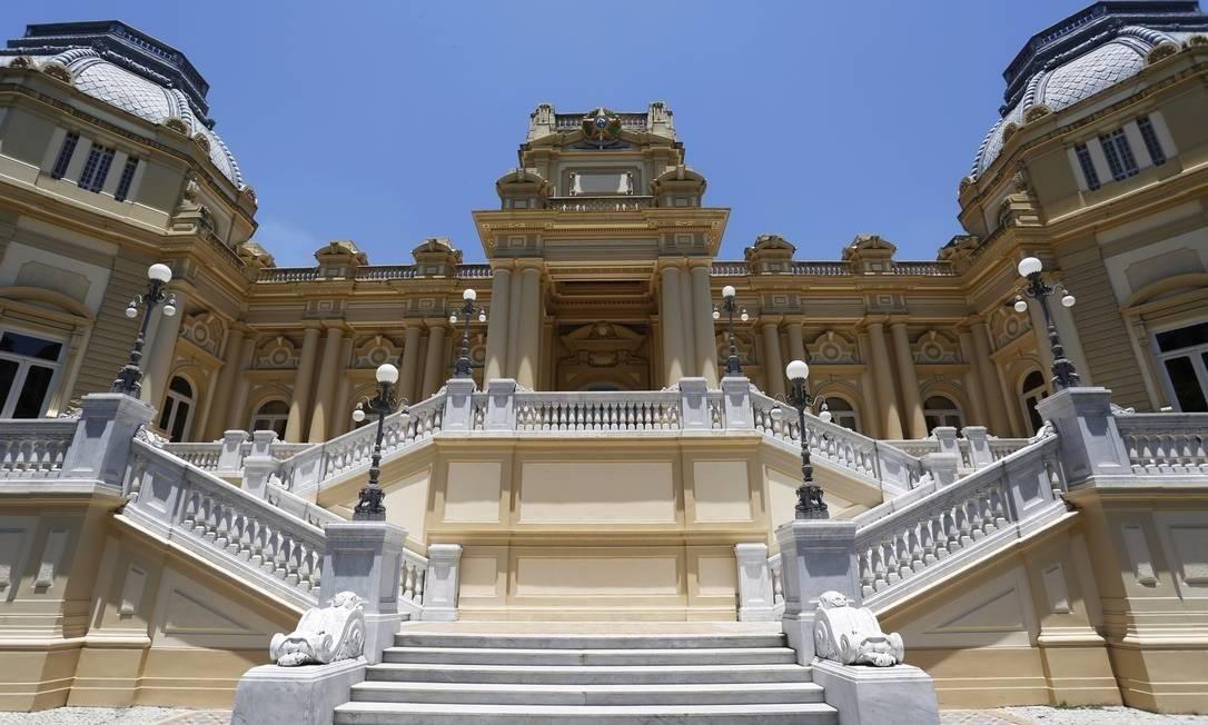 Palácio Guanabara, sede do governo do Rio de Janeiro Foto: Ana Branco/Agência O Globo