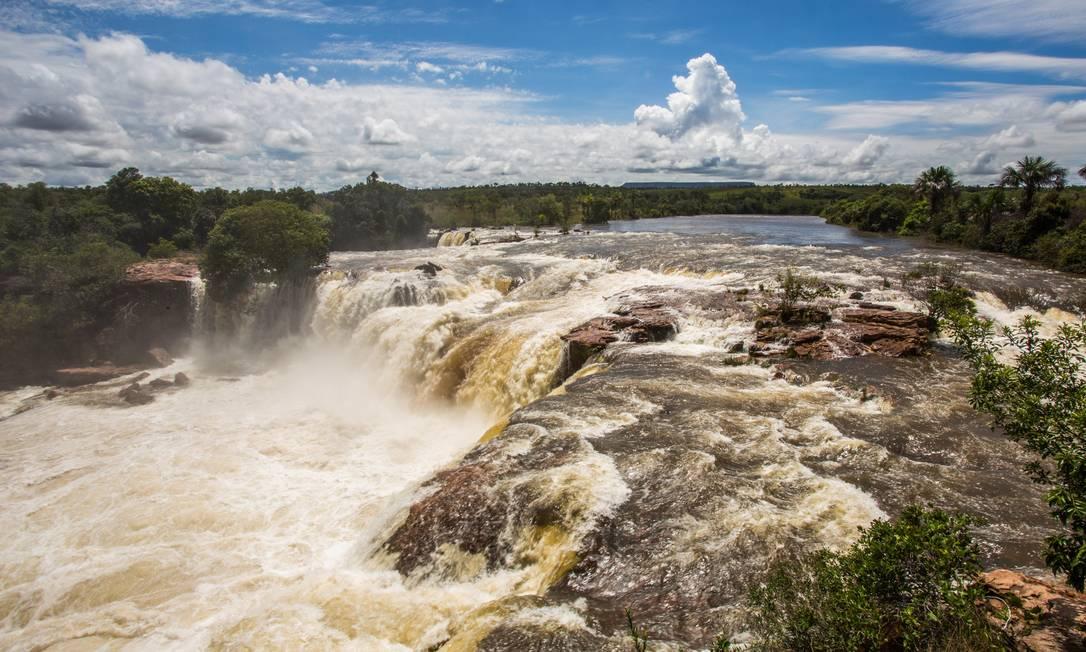Concessão do Parque Estadual do Jalapão tem sido criticada por moradores que vivem na região Foto: Bárbara Lopes / Agência O Globo (19/02/2018)