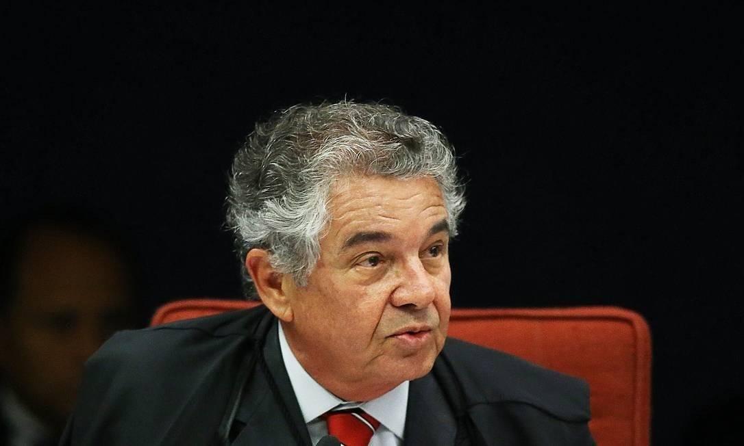 O ministro Marco Aurélio Mello, do Supremo Tribunal Federal Foto: Aílton de Freitas/Agência O Globo