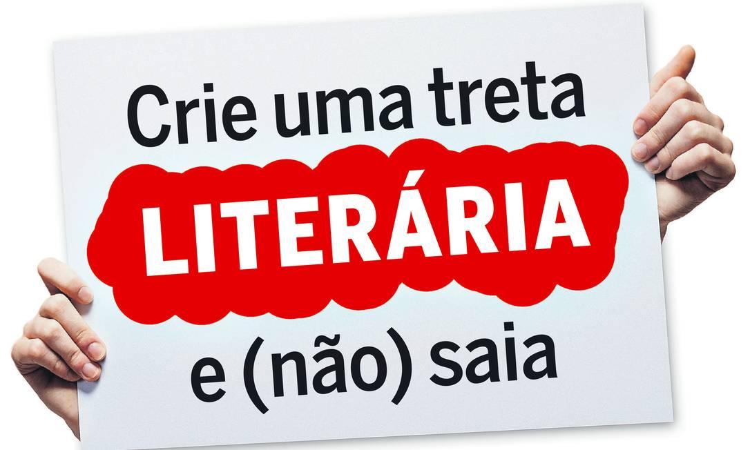 Tuíte sobre leitura 'obrigatória' de autores clássicos movimentou a rede no fim de semana Foto: Arte O GLOBO/Ana Scott