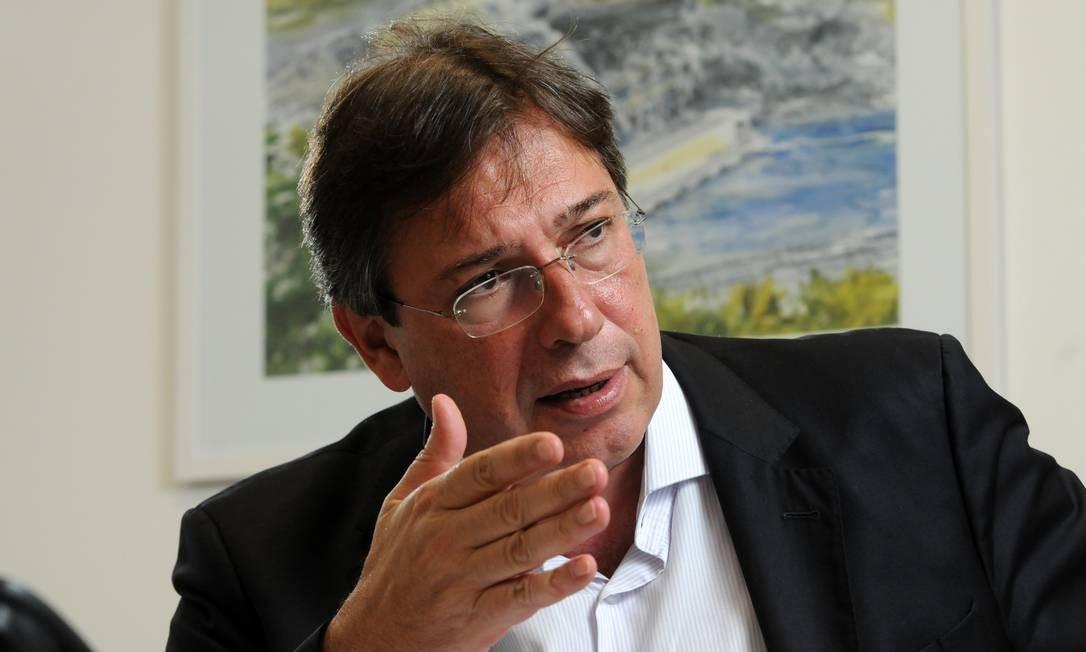 Wilson Ferreira Junior, presidente da Eletrobras pediu demissão e vai se transferir para a BR Distribuidora Foto: Leo Pinheiro/23-1-2018 / Valor
