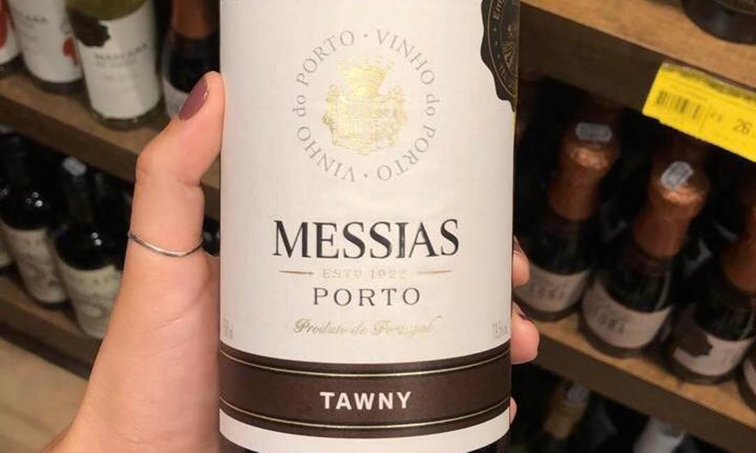 O vinho Messias: recém-chegado ao Brasil Foto: Divulgação