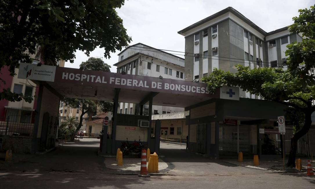 Hospital Federal de Bonsucesso passa por reforma após incêndio Foto: Fabiano Rocha / Agência O Globo