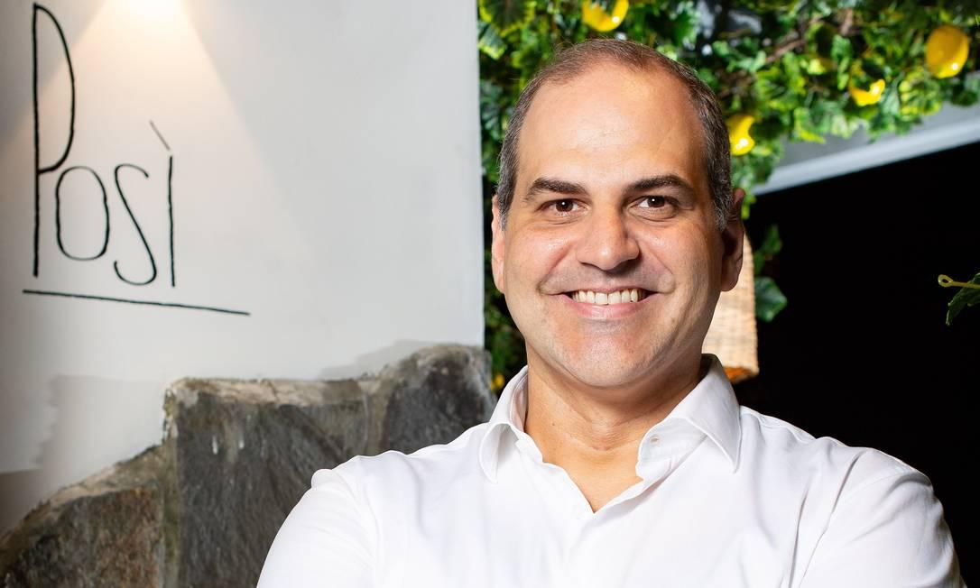Leonardo Rezende: restaurateur é o próximo convidado do RG Talks Foto: Lipe Borges / Divulgação