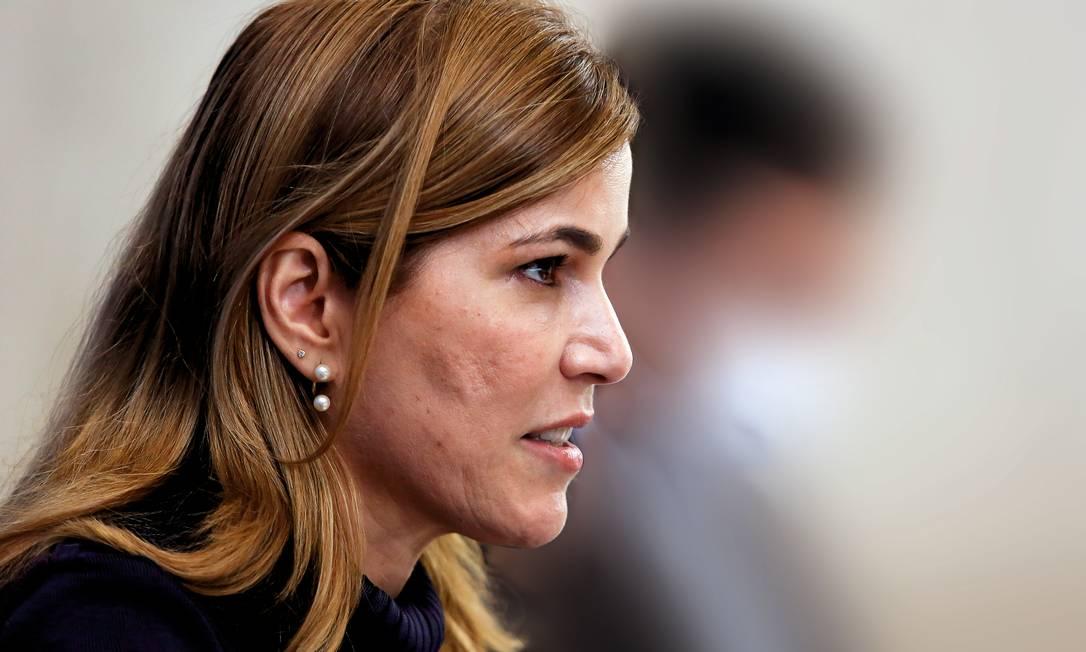 Mayra Pinheiro, secretária de Gestão do Trabalho do Ministério da Saúde Foto: Anderson Riedel/PR