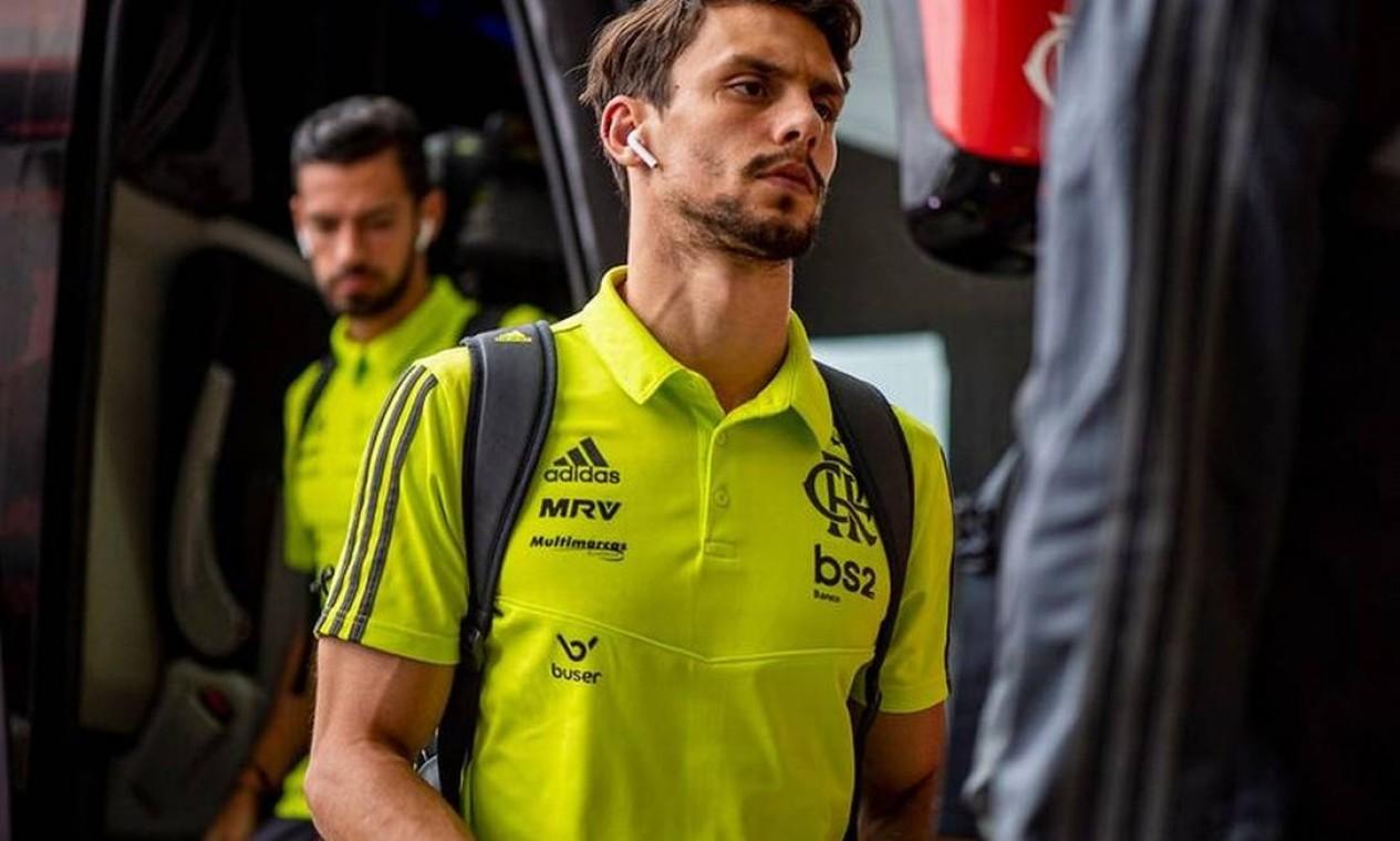 8. Rodrigo Caio (R$ 26,5 milhões) — São Paulo Foto: Marcelo Cortes/Flamengo