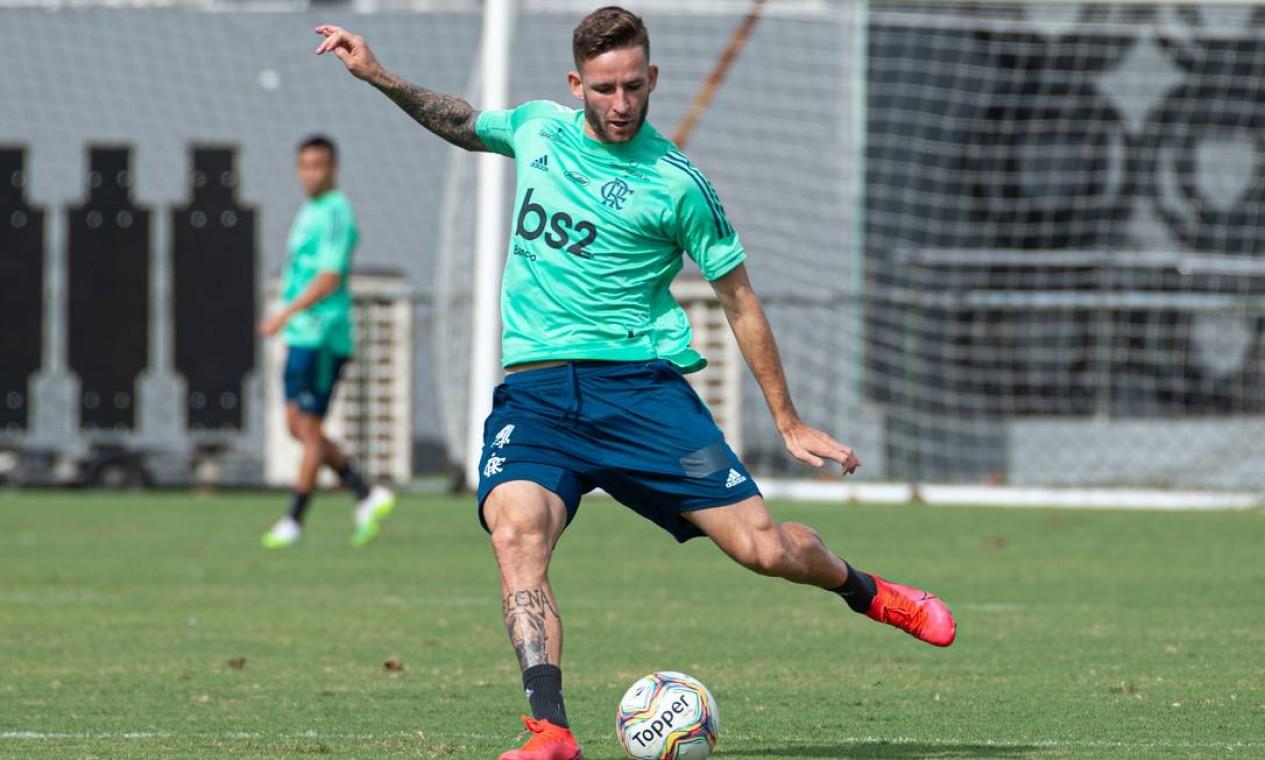 7. Léo Pereira (R$ 31,2 milhões) — Athletico Foto: Alexandre Vidal
