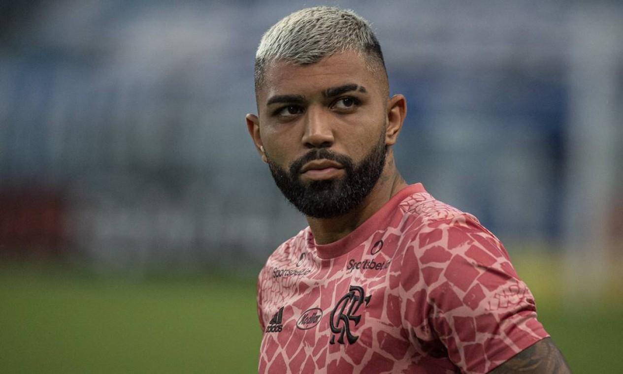 1. Gabigol (R$ 95 milhões) — Inter de Milão Foto: Alexandre Vidal/Flamengo