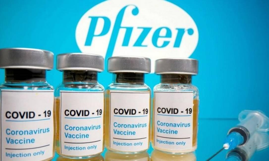 Pfizer exige em contrato que governo se responsabilize judicialmente por efeitos adversos da vacina Foto: Reuters