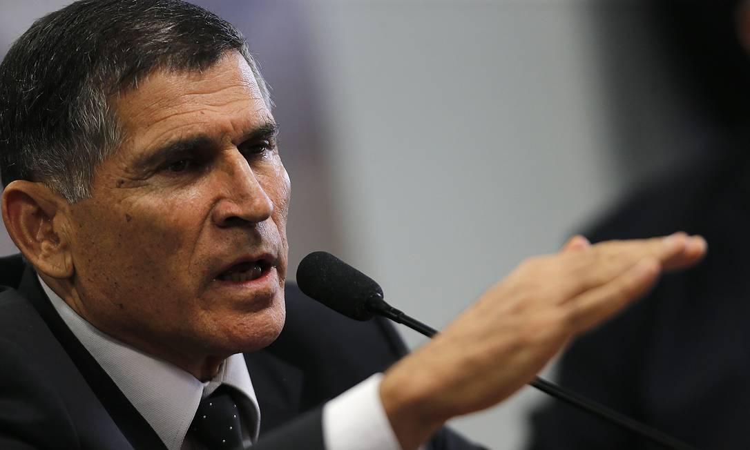 General Santos Cruz, ex-ministro de Governo de Jair Bolsonaro Foto: Jorge William/Agência O Globo