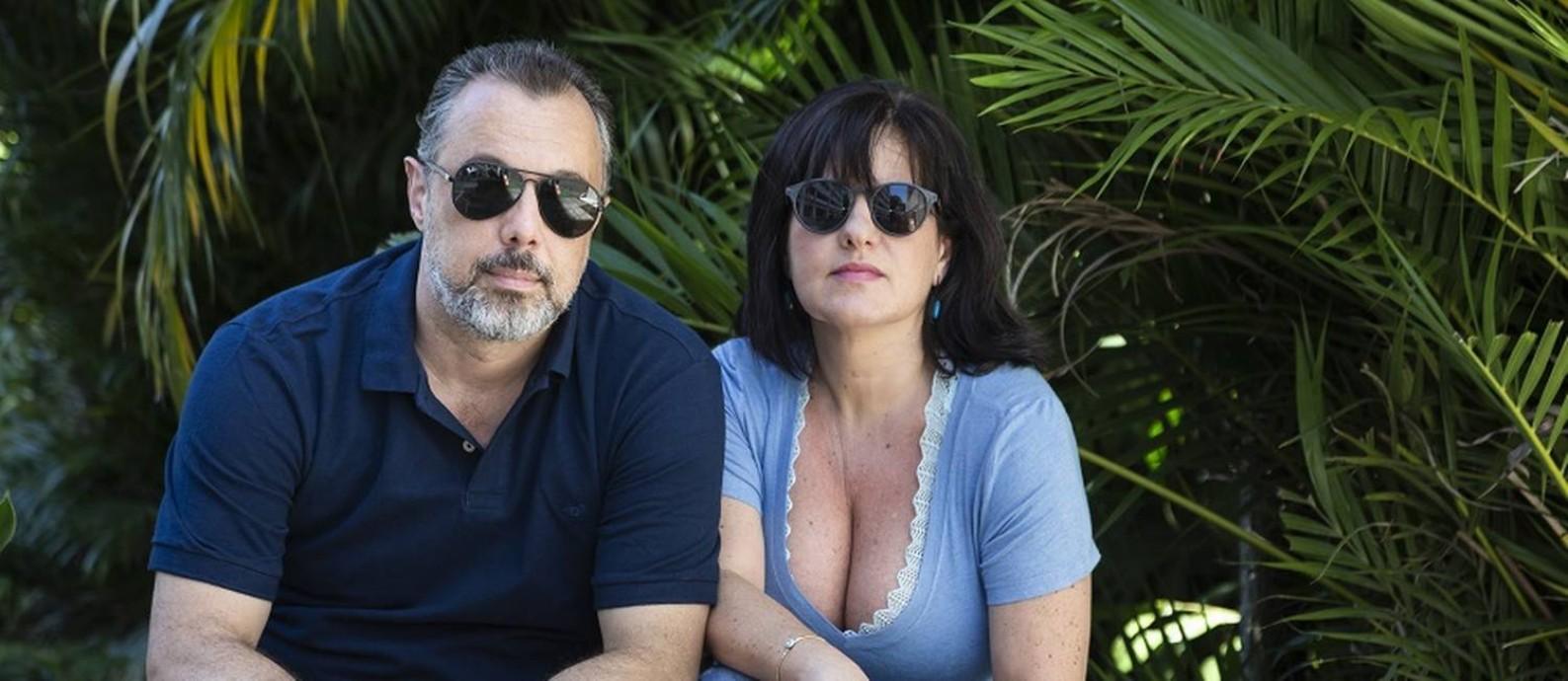 Alexandra Visconti e Eduardo Mello não compram roupas novas Foto: Leo Martins / Agência O Globo