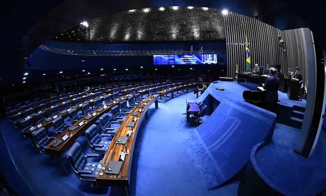 O plenário do Senado Foto: Marcos Oliveira / Agência Senado