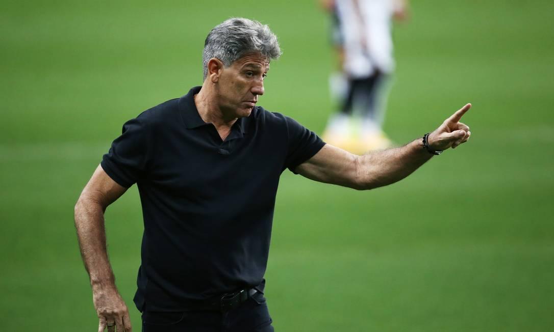 Renato Gaúcho: a exceção do futebol brasileiro Foto: Diego Vara / Reuters