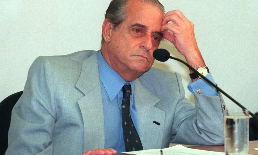 Ramez Tebet (MDB-MS). Presidiu de 2001 a 2003 Foto: Ailton de Freitas / Agência O Globo - 14/06/2000