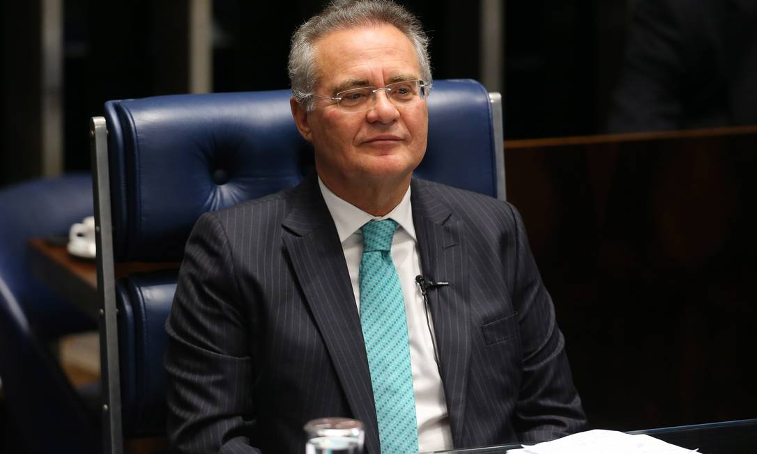 Renan Calheiros (MDB-AL). Presidiu de 2005 a 2007 Foto: Ailton de Freitas
