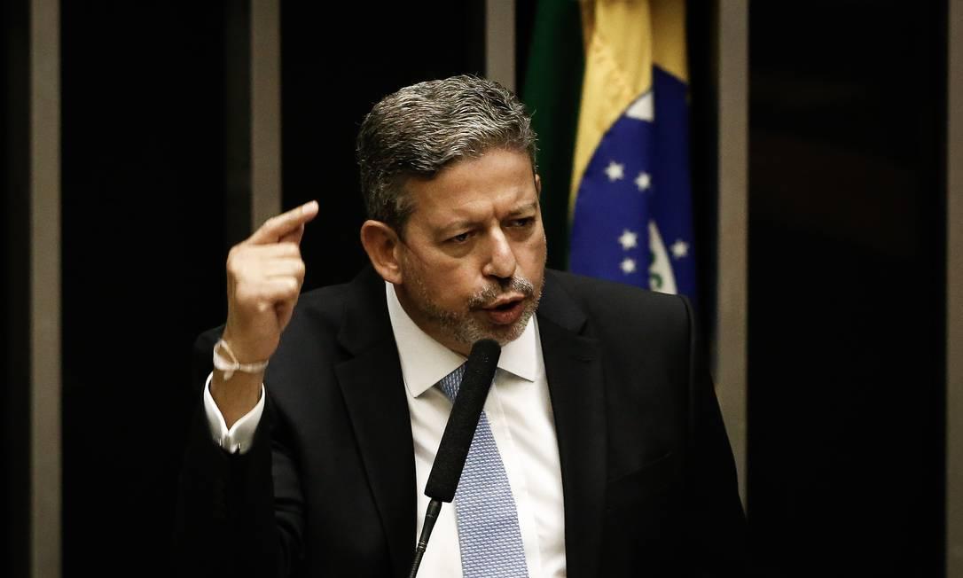 Deputado Arthur Lira (PP-AL) foi eleito presidente da Câmara na semana passada Foto: Pablo Jacob / Agência O Globo