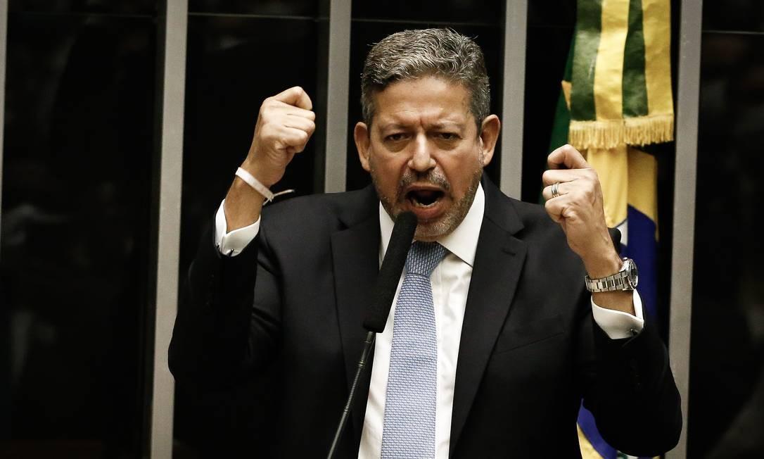 Arthur Lira foi eleito presidente da Câmara 01/02/2020 Foto: Pablo Jacob / Agência O Globo
