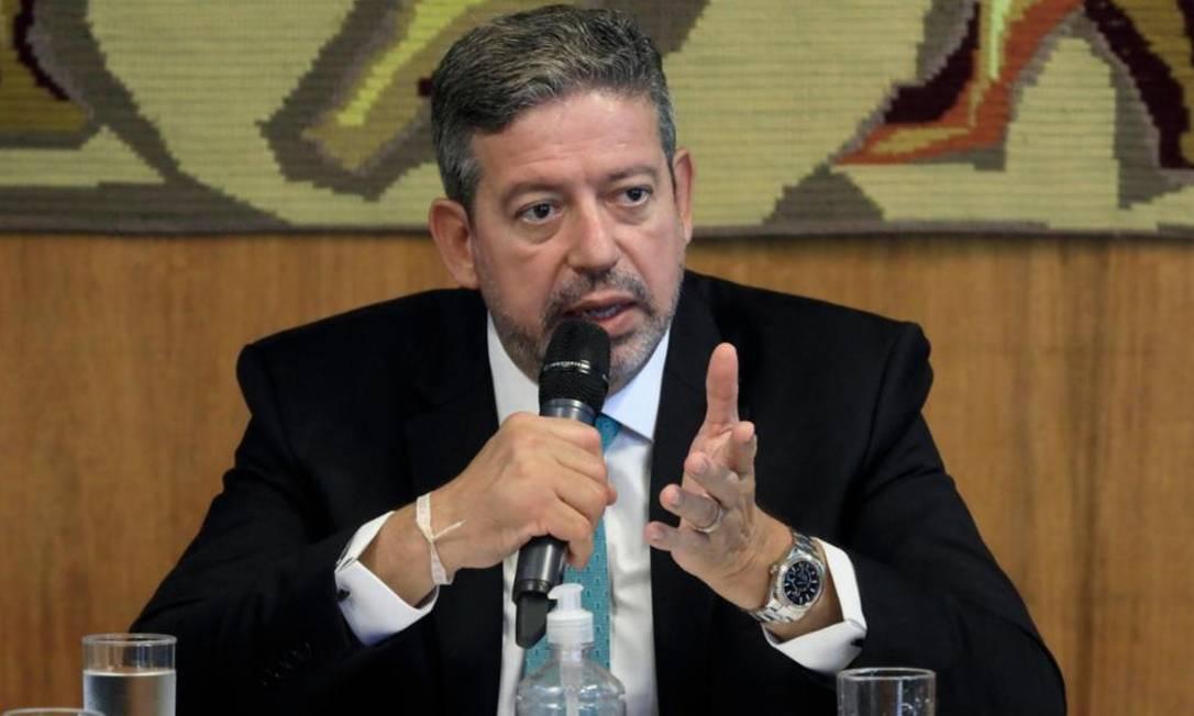 O presidente da Câmara, Arthur Lira Foto: Câmara dos Deputados