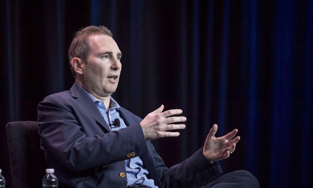 Andy Jassy será o novo presidente da Amazon Foto: David Paul Morris / Bloomberg