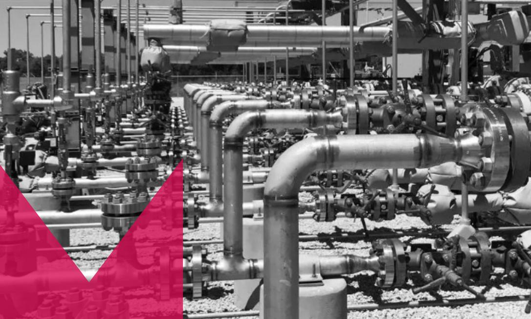 """Occidental Petroleum está investindo em uma grande fábrica de """"captura direta de ar"""" no Texas para compensar suas emissões de gás Foto: Reuters"""
