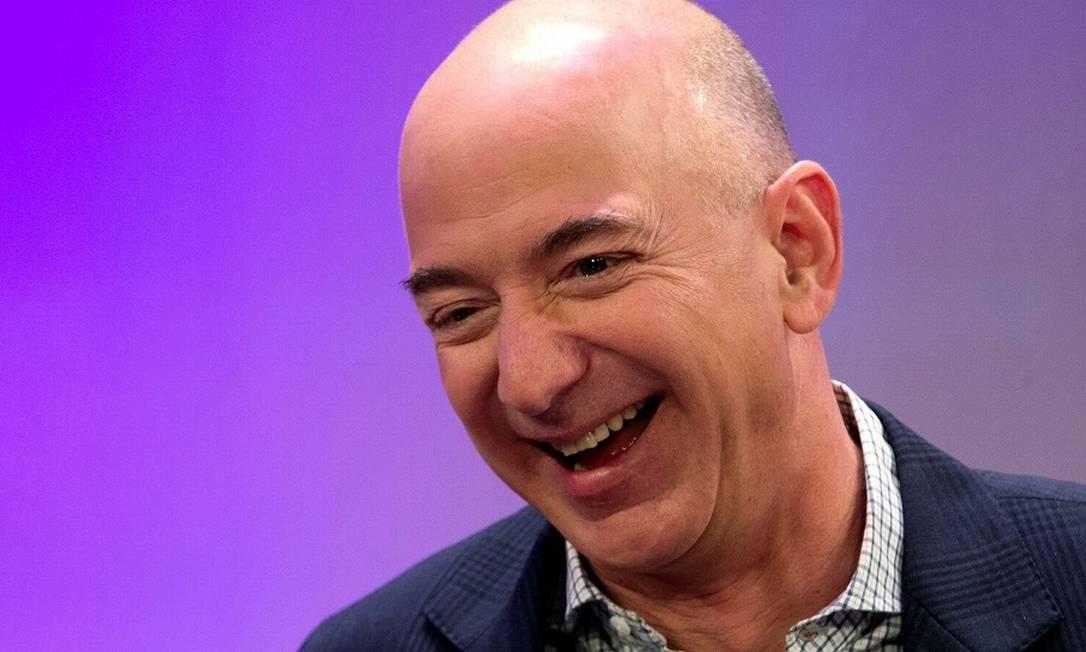 Jeff Bezos, da Amazon Foto: Mike Segar / REUTERS
