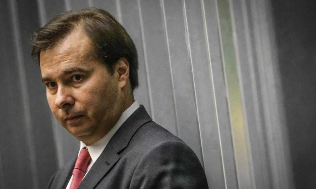 Rodrigo Maia, do DEM Foto: André Coelho /