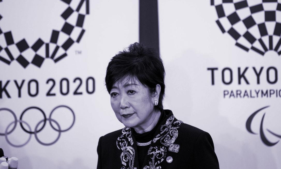 Yuriko Koike, governadora de Tóquio (02/02/2020) Foto: Behrouz MEHRI / AFP