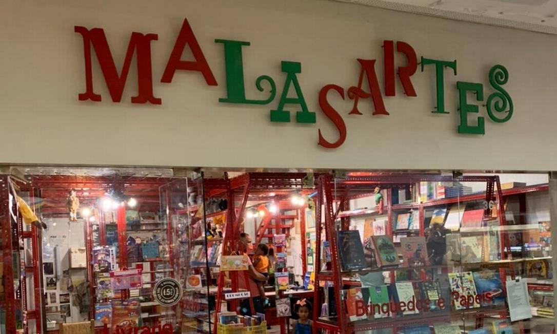 Patrimônio. Frequentadores fazem campanha para preservar a Malasartes, a primeira livraria infantil aberta no Brasil Foto: Divulgação