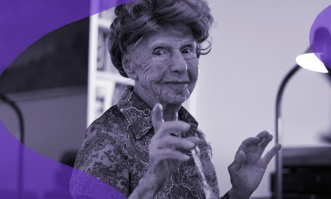 A pianista francesa Colette Maze, de 106 anos, posa em sua casa em Paris (04.02.2021). Ela toca desde 0s 4 anos e vai lançar um novo álbum em abril Foto: REUTERS/Sarah Meyssonnier
