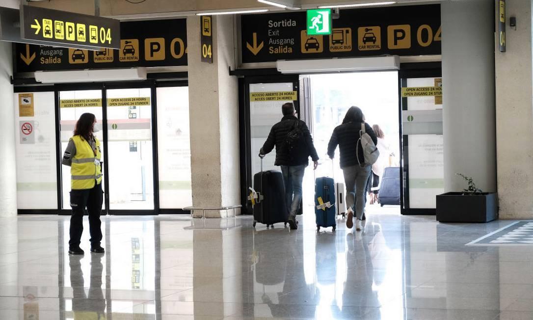 Aeroporto na cidade de Palma de Mallorca, na Espanha Foto: Europa Press News / Getty Images
