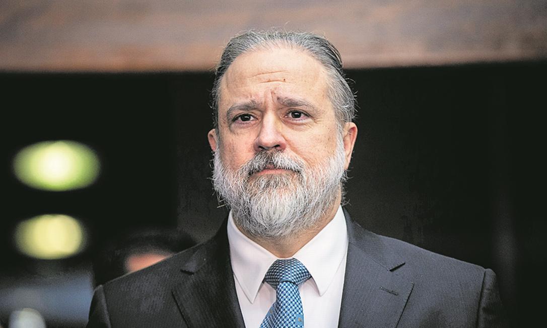 O procurador-geral Augusto Aras enviou representação contra procuradores da Lava-Jato para o CNMP Foto: Daniel Marenco/10-09-2019