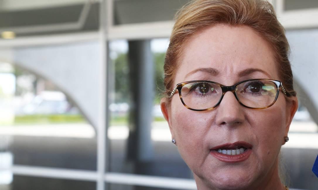 A ex-ministra Ellen Gracie voltará à Corte uma década depois para atuar como juíza conciliadora Foto: Ailton de Freitas-20/01/201 / Agência O Globo
