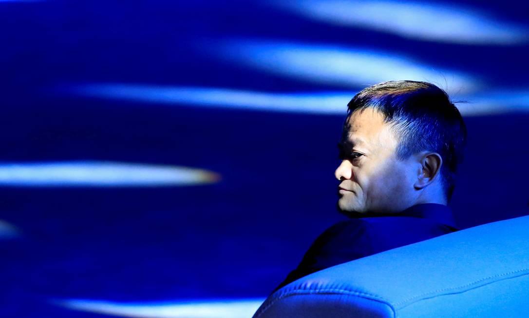 Jack Ma, da gigante chinesa Alibaba Foto: Aly Song / Reuters