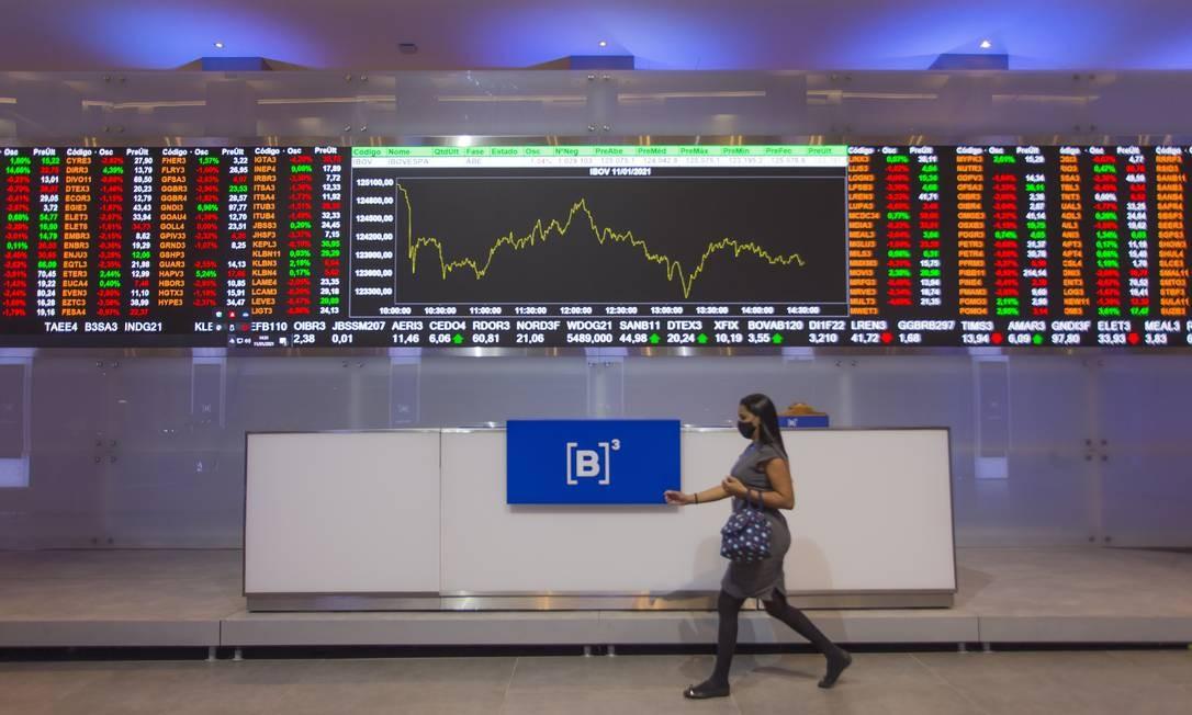 B3, bolsa de valores oficial do Brasil Foto: Edilson Dantas / Agência O Globo