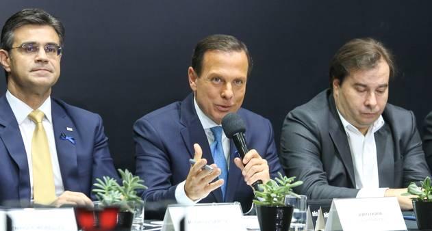 Doria convida Maia e Rodrigo Garcia para se filiarem ao PSDB - Jornal O  Globo