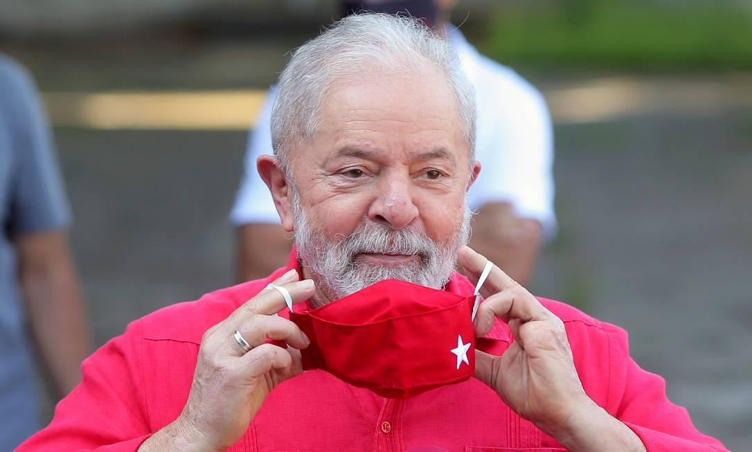 O ex-presidente Luiz Inácio Lula da Silva 15/11/2020 Foto: AMANDA PEROBELLI / REUTERS