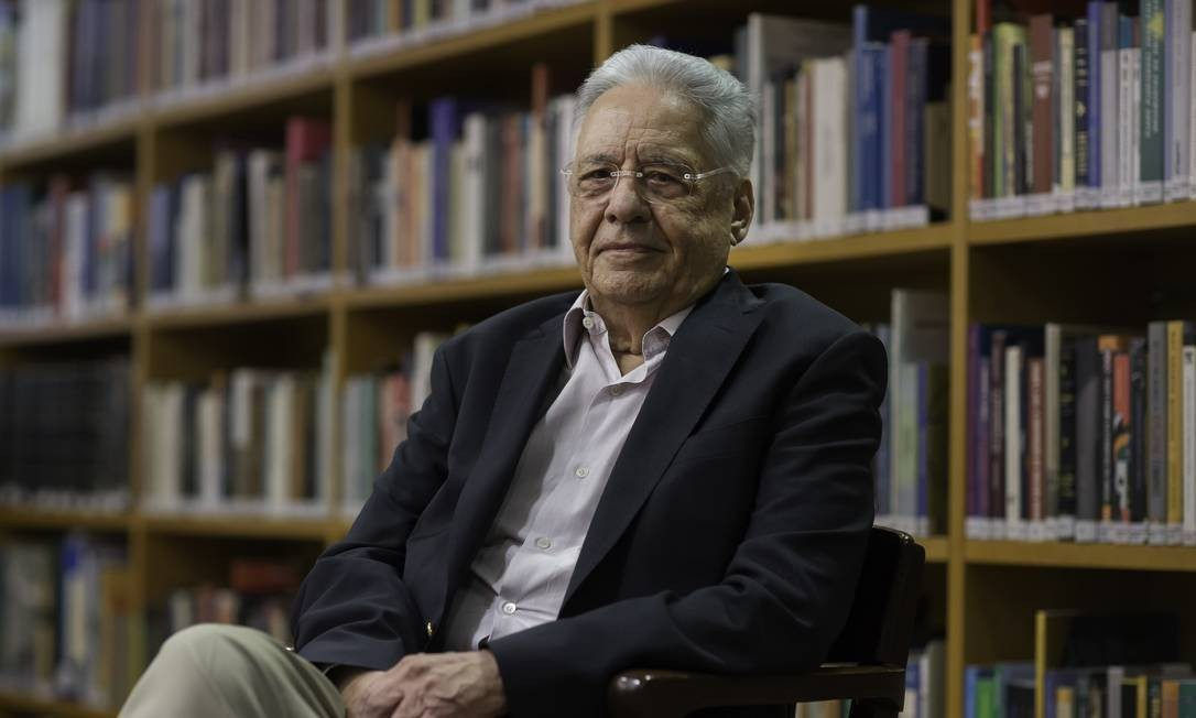 O ex-presidente Fernando Henrique Cardoso Foto: Edilson Dantas/Agência O Globo