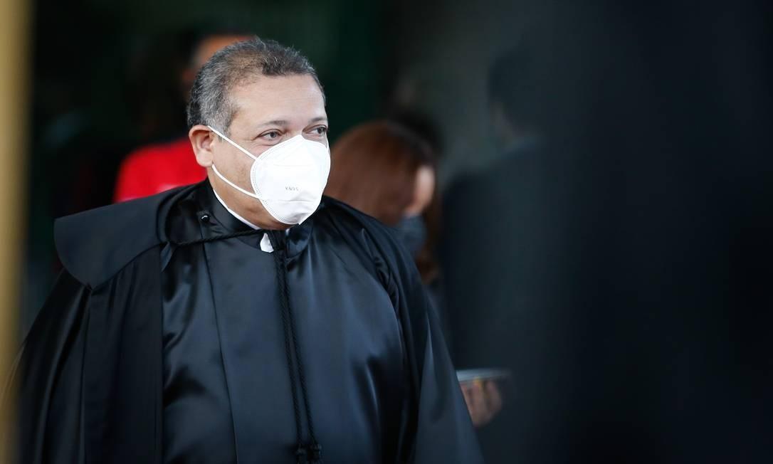 O ministro do STF Kassio Nunes Marques Foto: Pablo Jacob / Agência O Globo 05/11/2020