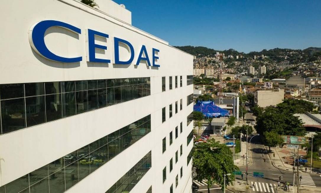 Edifício da Cedae no Centro do Rio em 18 de fevereiro de 2020 Foto: Brenno Carvalho / Agência O Globo