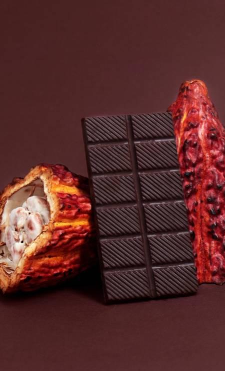 Novidade. A barra de chocolate 72% com cumaru, fruto amazônico, é um dos destaques da Maré Chocolate (R$ 20,90, 80g) Foto: Divulgação