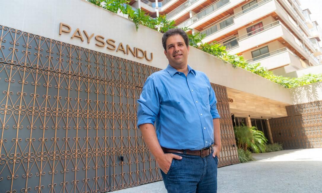 Marcos Saceanu: as pessoas passaram a dar muito valor a bons projetos Foto: Fábio Cordeiro