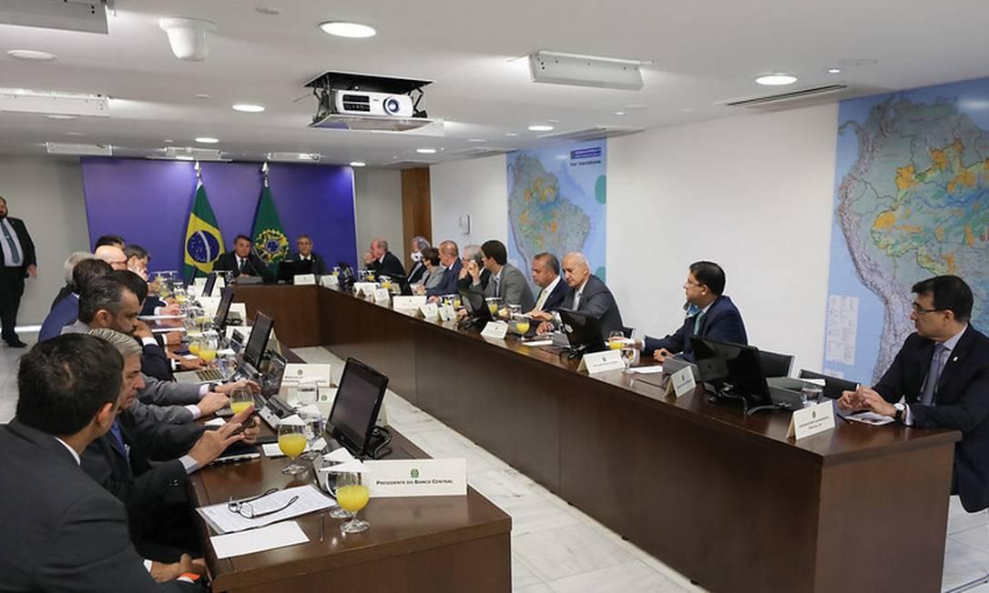 Vice-presidente não foi convidado par a reunião de hoje Foto: Marcos Correa / Presidência da República