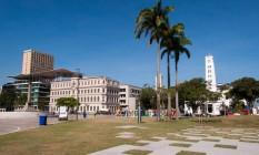 Praça Mauá revitalizada tem ótimas opções de lazer Foto: Banco de Imagens