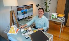 Henrique Drumond observa tendências como uso eficiente da energia e fontes renováveis nas novas construções Foto: Fábio Cordeiro